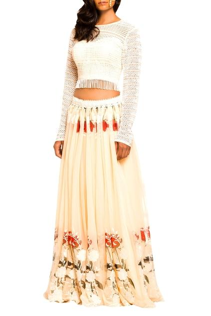 Latest Collection of Skirt Sets by Nitya Bajaj