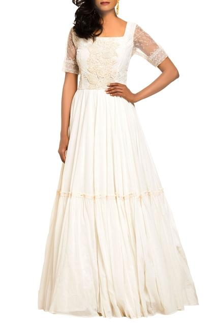 Latest Collection of Gowns by Nitya Bajaj