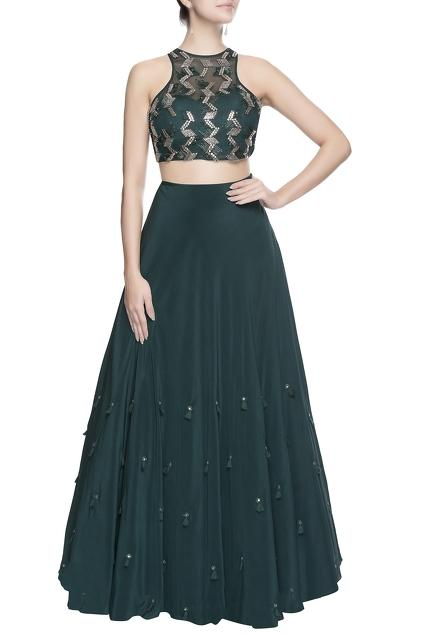 Latest Collection of Skirt Sets by Babita Malkani