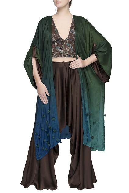 Latest Collection of Capes by Babita Malkani