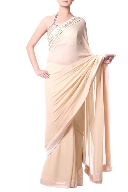 Latest Collection of Saris by Komal Sood
