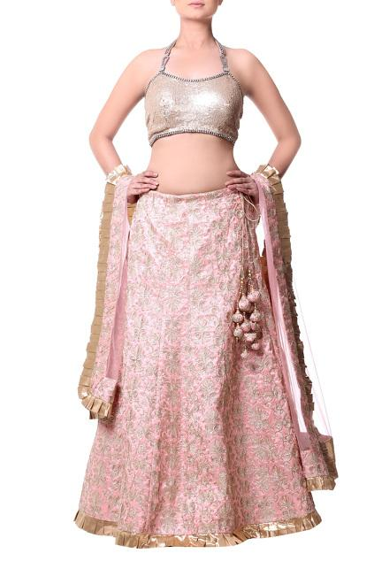 Latest Collection of Lehengas by Komal Sood