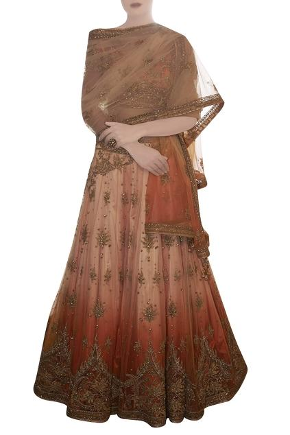 Latest Collection of Lehengas by Mandira Wirk