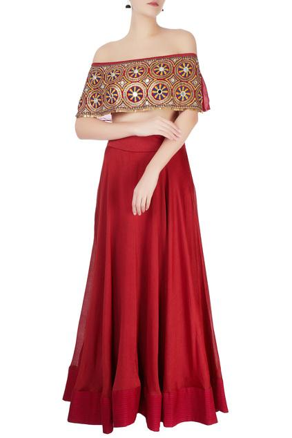 Latest Collection of Lehengas by Roshni Chopra