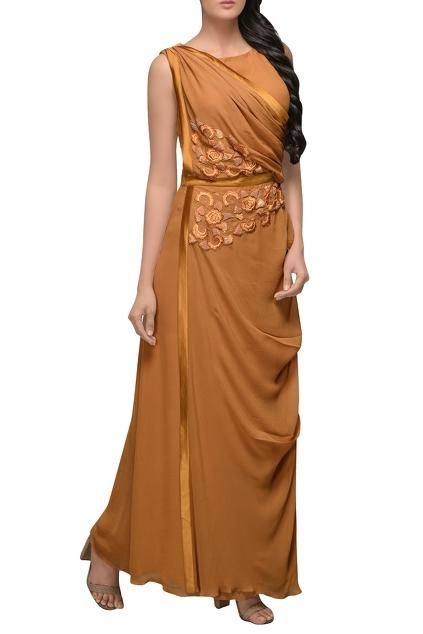 Latest Collection of Gowns by Sadan Pande