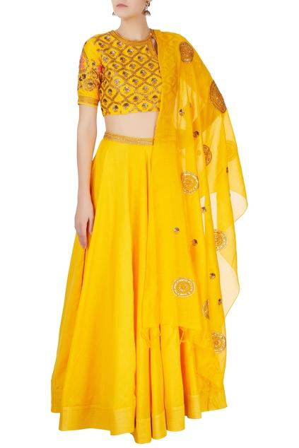Latest Collection of Lehengas by Radhika Airi