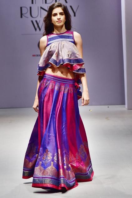 Latest Collection of Lehengas by Poonam Dubey