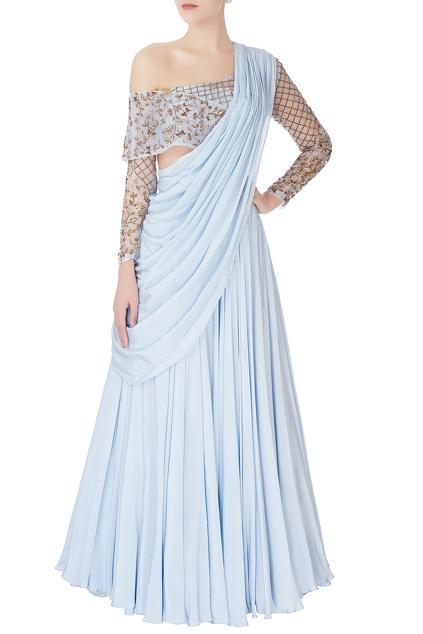 Latest Collection of Saris by d&n by Dheeru and Nitika