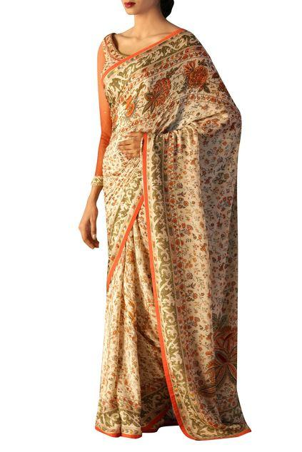Latest Collection of Saris by Ritu Kumar