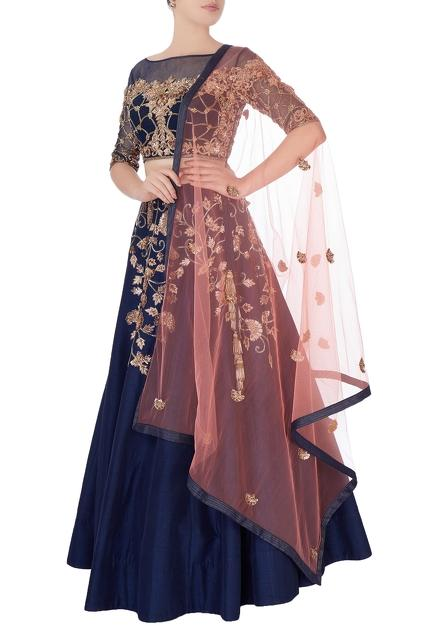 Latest Collection of Lehengas by Shlok Design