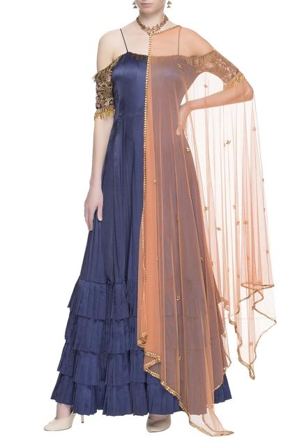 Latest Collection of Gowns by Neha Mehta Couture