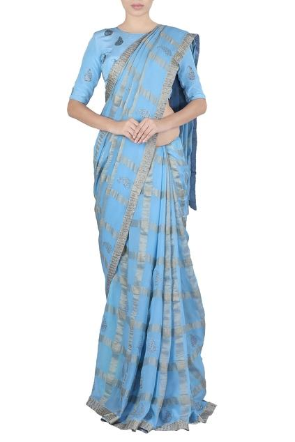 Latest Collection of Saris by Latha Puttana
