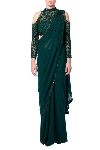 Latest Collection of Saris by Platinoir
