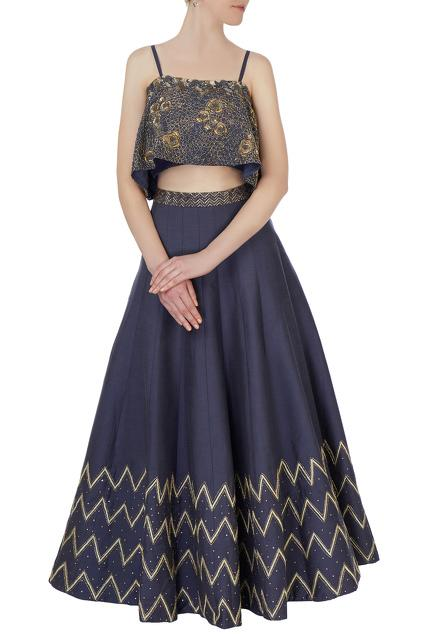 Latest Collection of Lehengas by Aarti & Juhi Grover