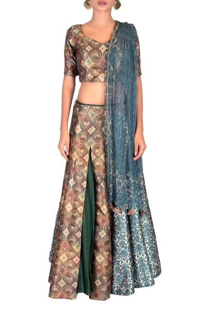 Latest Collection of Lehengas by NAUTANKY