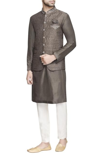 Latest Collection of Nehru Jackets by AQube by AMBER