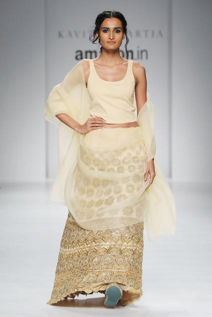 Latest Collection of Lehengas by Kavita Bhartia
