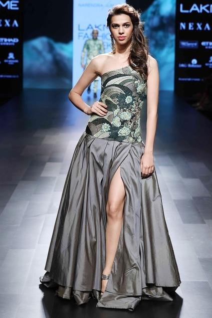 Latest Collection of Gowns by Narendra Kumar
