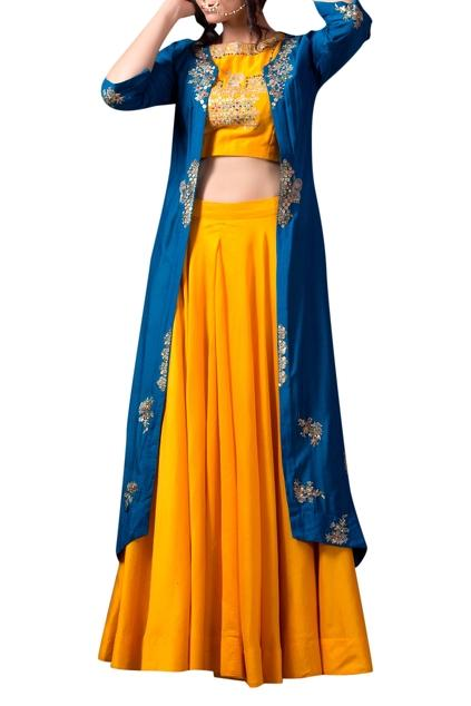 Latest Collection of Lehengas by Pallavi Jaipur
