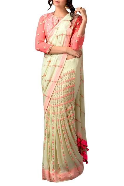 Latest Collection of Saris by Pallavi Jaipur