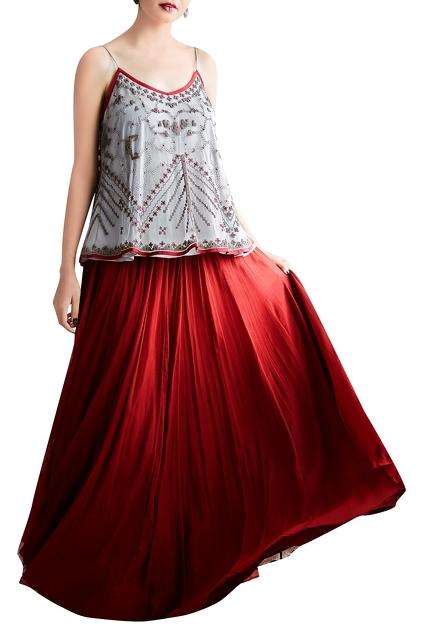 Latest Collection of Skirt Sets by Shasha Gaba