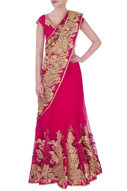 Latest Collection of Saris by Bhairavi Jaikishan