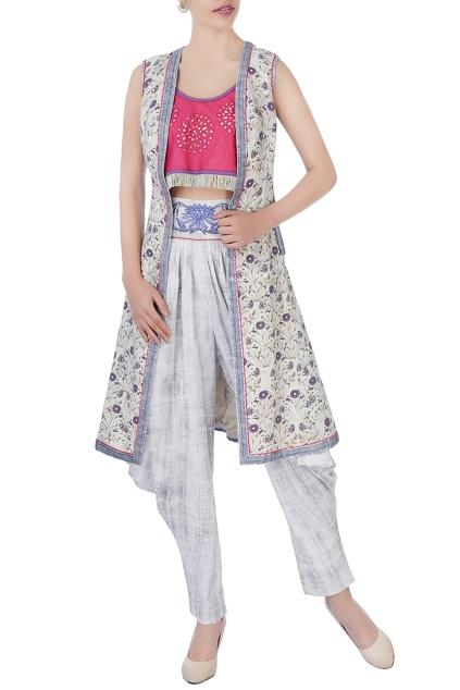 Latest Collection of Pant Sets by Poonam Dubey