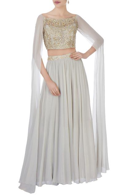 Latest Collection of Lehengas by Aneesh Agarwaal