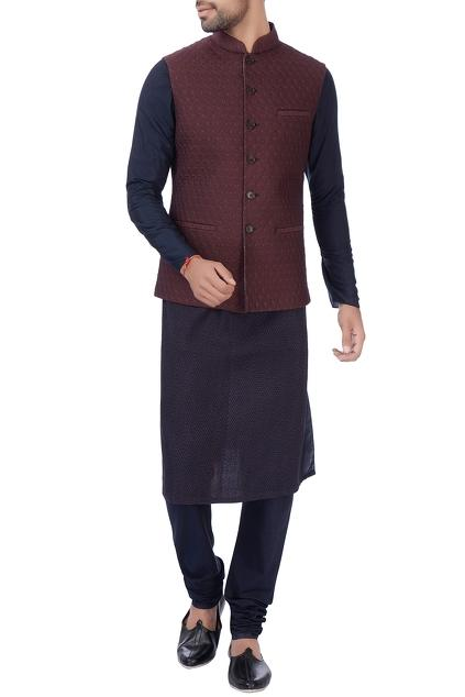 Latest Collection of Nehru Jackets by Rajesh Pratap Singh - Men