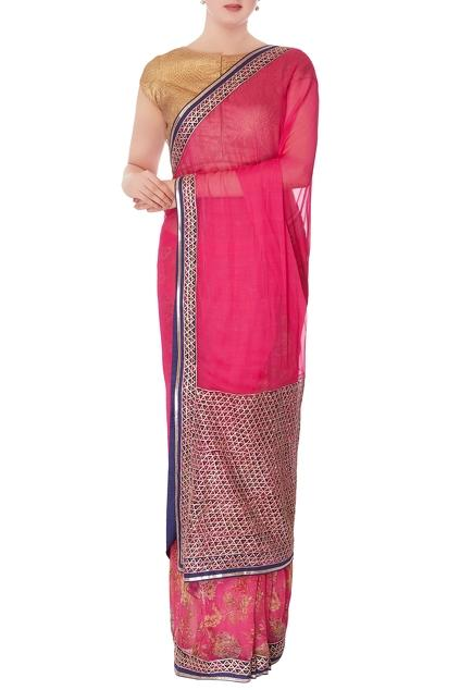 Latest Collection of Saris by Gopi Vaid