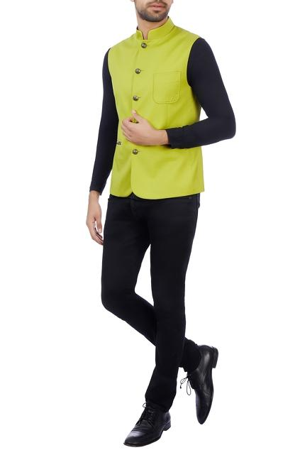 Latest Collection of Nehru Jackets by Vikram Bajaj