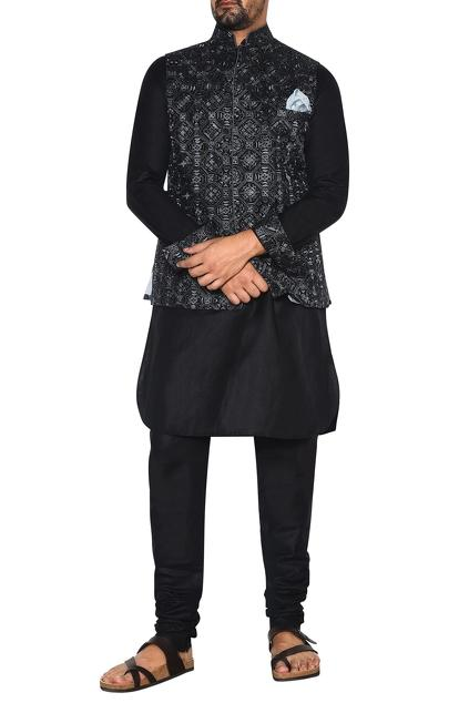 Latest Collection of Nehru Jackets by Arjan Dugal