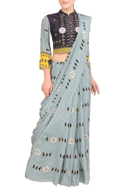 Latest Collection of Saris by SOUP by Sougat Paul