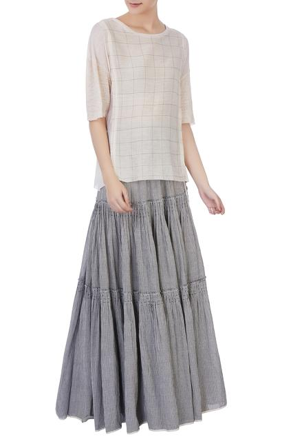 Latest Collection of Skirt Sets by Urvashi Kaur