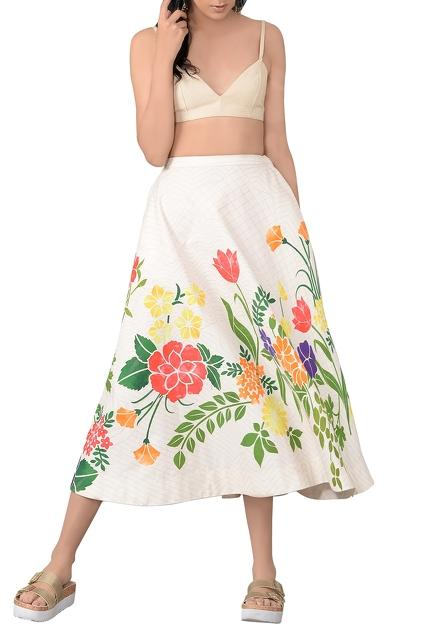 Latest Collection of Skirts by Sahil Kochhar