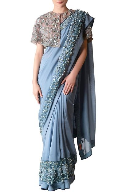 Latest Collection of Sari Blouses by Not So Serious By Pallavi Mohan