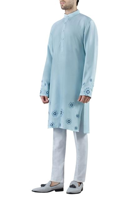 Latest Collection of Kurtas by SS HOMME- Sarah & Sandeep
