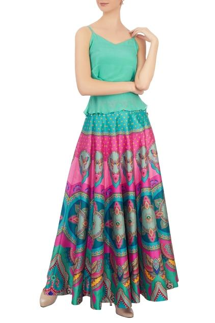 Latest Collection of Skirts by Siddhartha Bansal