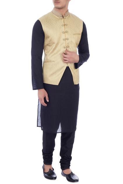 Latest Collection of Nehru Jackets by Pranay Baidya - Men