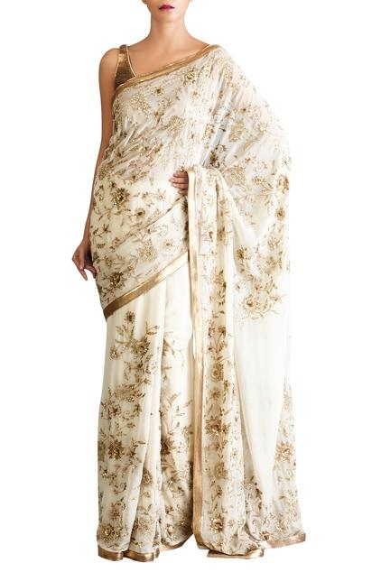 Latest Collection of Saris by Nakul Sen