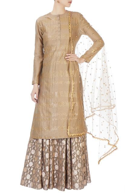 Latest Collection of Skirt Sets by Joy Mitra