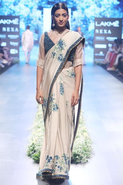 Latest Collection of Saris by SVA - Sonam and Paras Modi
