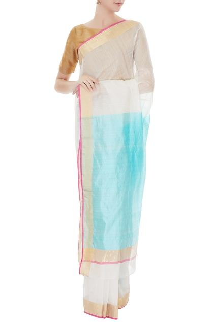 Latest Collection of Saris by Mint N' Oranges