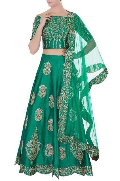 Latest Collection of Lehengas by Vandana Sethi