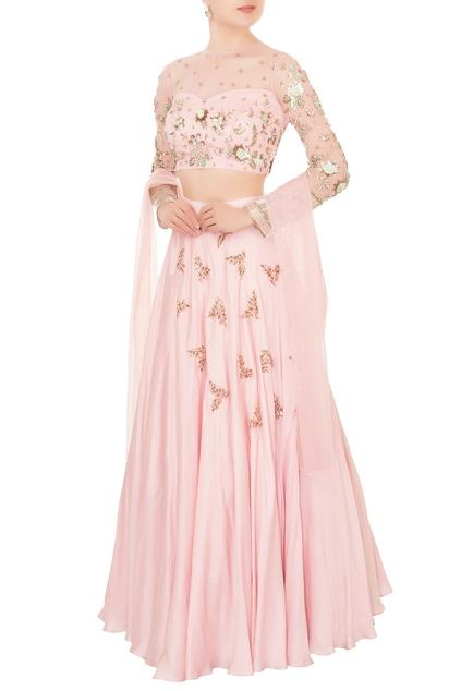 Latest Collection of Lehengas by Mani Bhatia