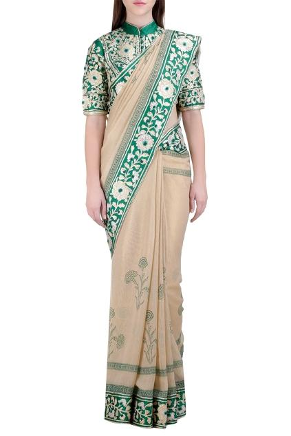 Latest Collection of Saris by Shyam Narayan Prasad