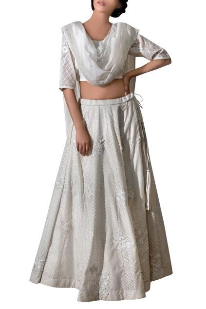 Latest Collection of Lehengas by Priyanka Raajiv