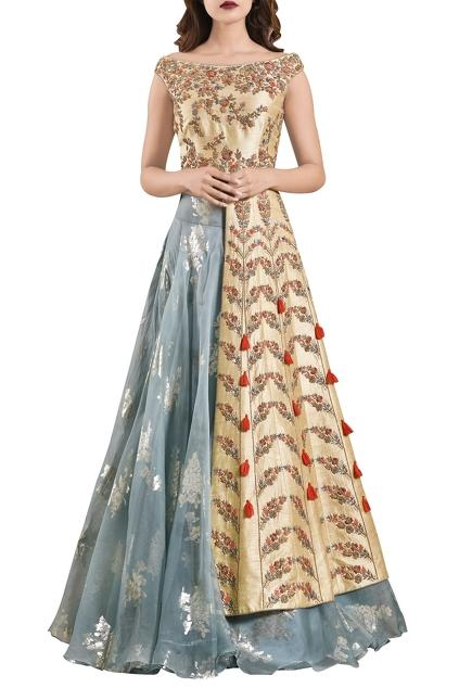Latest Collection of Lehengas by Rishi and Soujit