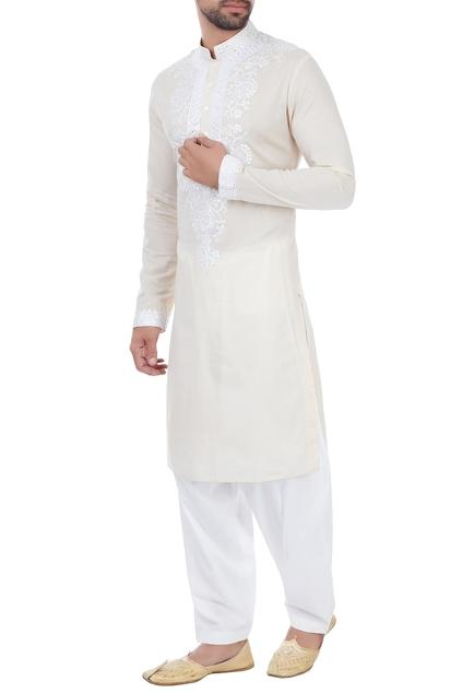 Latest Collection of Kurtas by MEHRAAB - Men