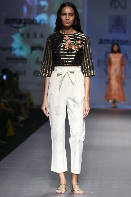 Latest Collection of Pant Sets by PRAMA by Pratima Pandey